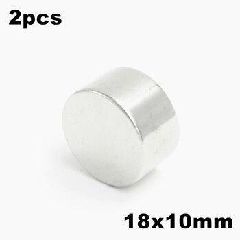 50pcs 18x10mm Super Powerful Strong Bulk Small Round NdFeB Neodymium Disc Magnets Dia 18mm x 10mm N35  Rare Earth NdFeB Magnet