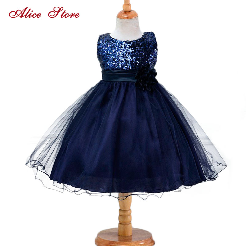 Hot Summer   Flower     Girls     Dress   For Wedding And Party Infant Princess   Girl     Dresses   Toddler Costume Baby Kids Clothes robe fille Z2