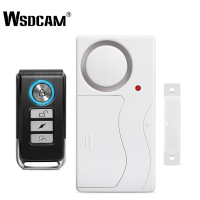 Wsdcam Door Window Alarm Systems Security Home Wireless Alarms Anti-Theft Remote Control Alarm and Host Sensor Door Alarma