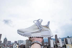 0f90f8064 +BOX)Top Quality Real Boost NMD Running Shoes Pharrell Williams X Human  Race Hu Billionaire Boys Club YOUTH HAPPY Sneakers
