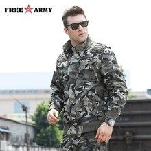 Модные Армейский зеленый куртки Для мужчин военные Костюмы Для мужчин куртки-бомберы камуфляжная куртка мужской Дизайнерская одежда Для мужчин джинсовая куртка MS-6052