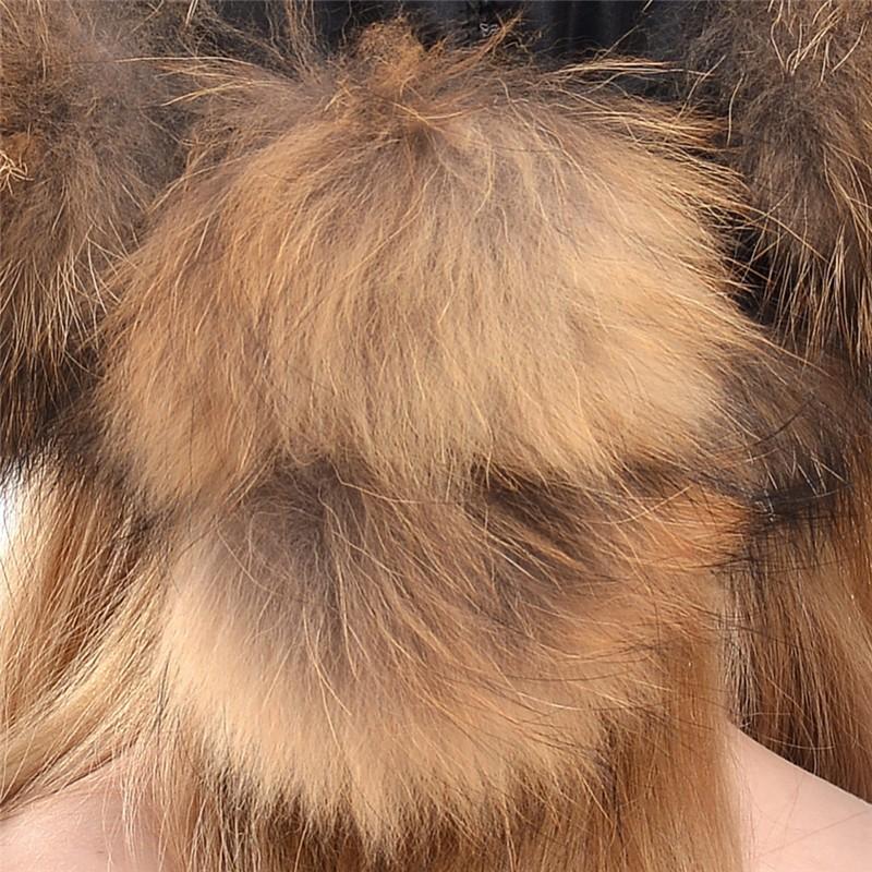 QUEENFUR-2016-Women-Genuine-Fox-Fur-Hat-With-Pom-Poms-Hat-Winter-Ear-Flaps-Bomber-Russian