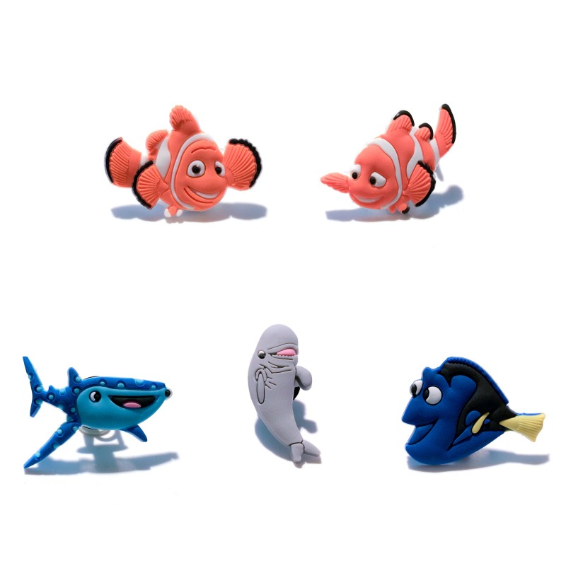 a8567a0298ef Detail Feedback Questions about 5pcs ot Finding Dory PVC Shoe Charms Nemo  Shoe Buckles Accessory Fit Wristbands Bracelet Croc JIBZ Kid Party Gift  Xmas Gift ...