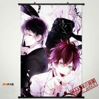 DIABOLIK LOVERS Wall Poster Scroll Home Fabric Decor Japanese Anime Cosplay 3