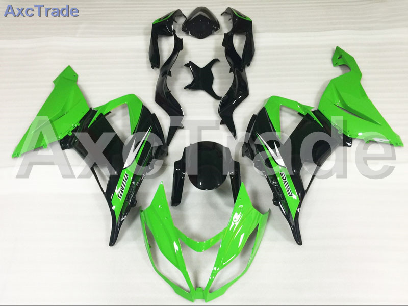 Motorcycle Fairings For Kawasaki Ninja ZX6R 636 ZX-6R 2013 2014 2015 2016 13-16 ABS Plastic Injection Fairing Bodywork Kit Green abs plastic motorcycle body fairing kits for kawasaki zx6r 1998 1999 orange green full fairings bodywork ninja 636 zx 6r 98 99