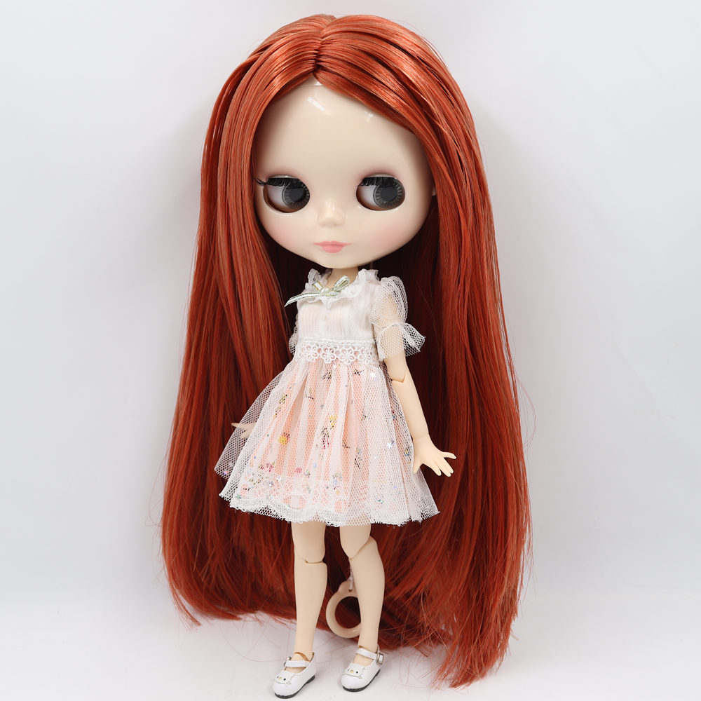 ICY Nude Factory Blyth Doll Series No BL2361 0388 Orange mixed oily hair white skin Joint