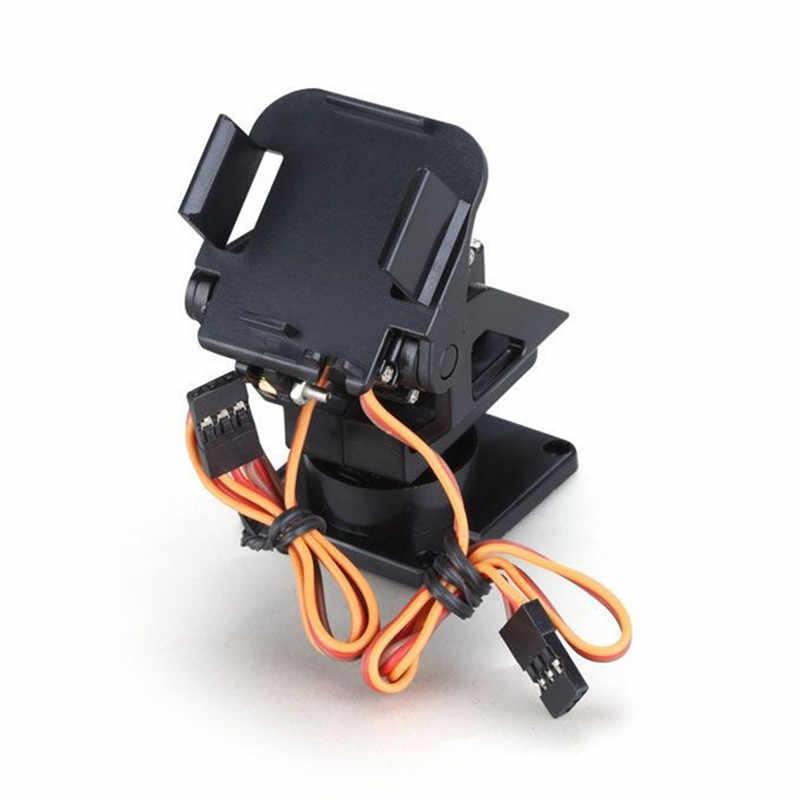 Plastic Servo Beugel PT Pan/Tilt Camera Platform Anti-Vibration Mount Voor Aircraft FPV Gewijd Nylon PTZ Voor 9G SG90 MG90S