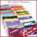 O Envio gratuito de 80 g/saco 30 cor diferente escolher Prego Pó Glitter pó brilhante para Nail Art Decoração para gel UV acrílico