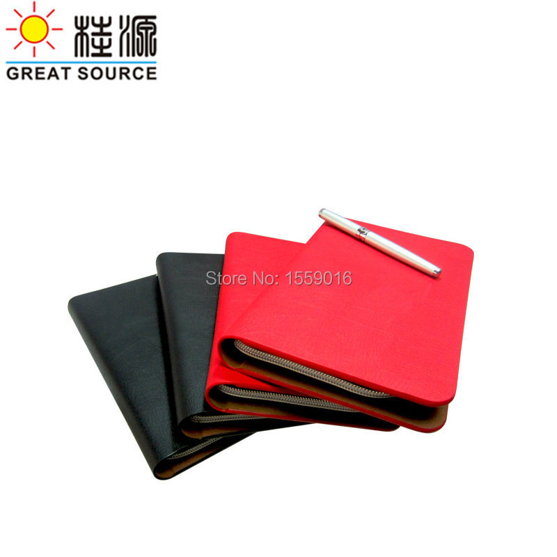 Great Source 2018 planner A5 wallet portfolio binder notepad with ziplock agenda notepad with 2019-2020 organizer
