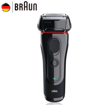 Электрическая бритва Braun 5030s, перезаряжаемая электробритва, лезвия для бритья, высокое качество, безопасные бритвы для мужчин