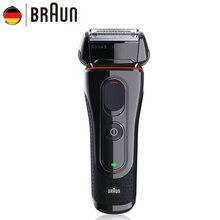 Braun Elektrische Rasiermesser 5030 s Wiederaufladbare Elektrische Rasierer Rasierklingen Hohe Qualität Rasieren Sicherheit Rasierer Für Männer