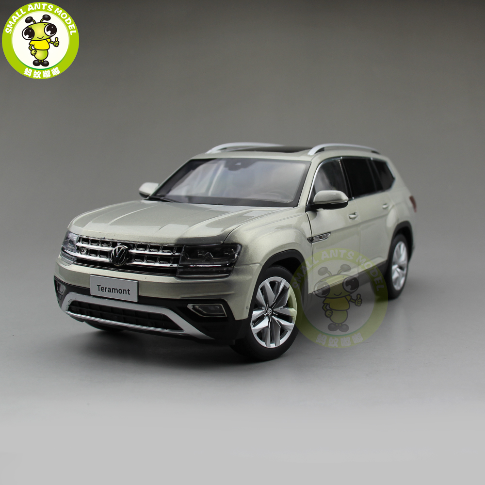 1/18 VW Volkswagen Teramont SUV Diecast Metal SUV CAR MODEL Toy gift hobby collection Silver high simulation 1 18 advanced alloy car model volkswagen golf gti 1983 metal castings collection toy vehicles free shipping