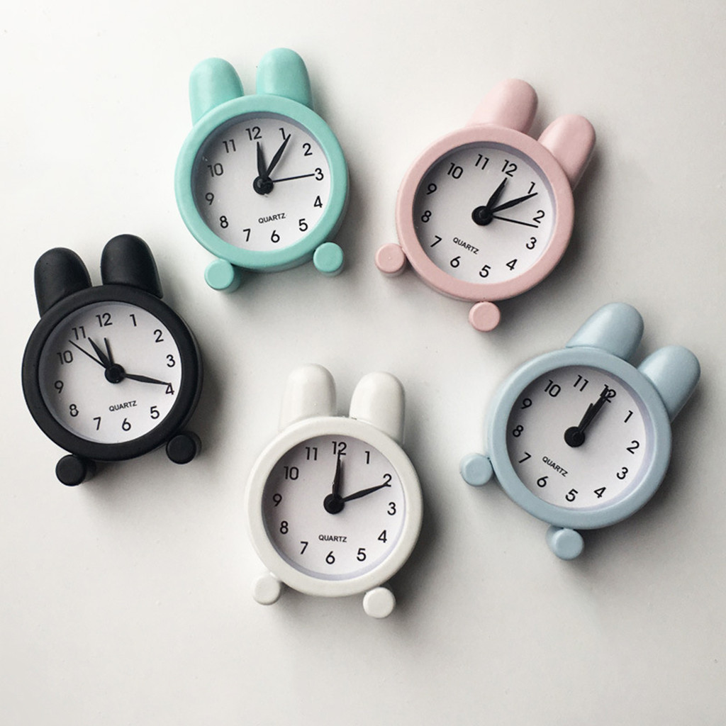 Alarm Clocks Lowest Price Best Selling Creative Cute Mini Metal
