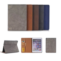 Business PU Leather Case Fold Stand Magnetic Flip Tablets Cover For IPad Pro 12 9 Case