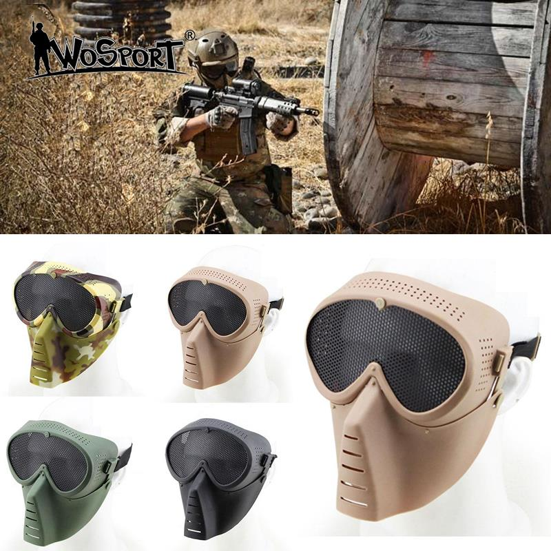 Tactical Safe Mask Anti Fog Hunting Archery Paintball Accessories Outdoor