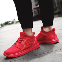 Women Men Sports Shoes Summer Mesh Running Shoes Man Sport Sneakers Black Plus Size 46 Zapatos corrientes de verano