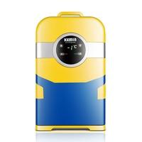 KEMIN 22L Car Mini Refrigerator Mini Fridge Refrigeration Heating For Household And Car Use Portable freezer 12V 220V