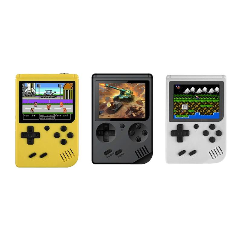 Game Console 8 Bit Retro Mini Pocket Handheld Player +Handle Built-in 168 Classic Games Best Gift for Child Nostalgic Player 3