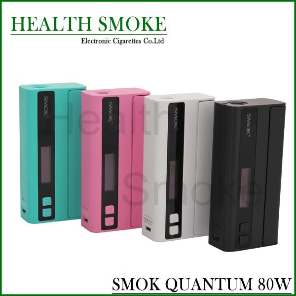 100% Original Smok Quantum 80W TC/VW OLED Screen Support OTA Upgrading Bluetooth Box Mod