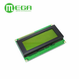 Lcd-Module LCD2004 20X4 Green-Screen/blue-Screen Yellow 5V And 1pcs