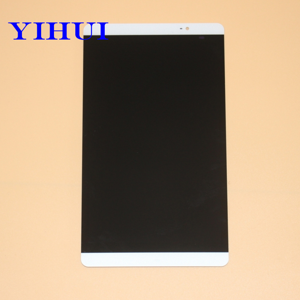 YIHUI White Full LCD DIsplay + Touch Screen Digitizer Assembly For Huawei Mediapad M2 8.0 M2-801L M2-802L M2-803L Free Shipping lcd screen display touch digitizer for huawei ascend p6 p6s white or black free shipping