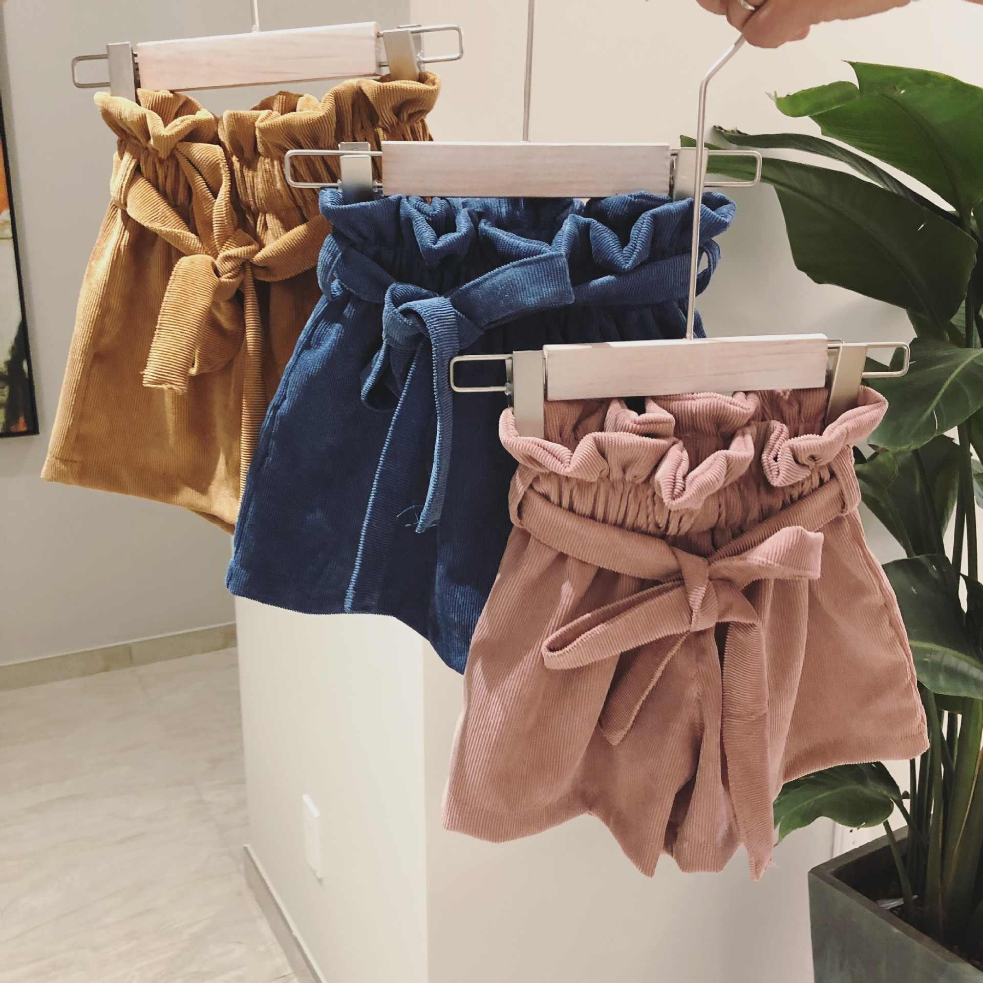 Wiosna jesień dziecko dziewczyna spodenki nowe cukierki kolorowe dla dzieci dziewczyna uchwyt spodenki spódnica dziecko wysoka talia duże PP spodnie maluch dziewczyna krótki