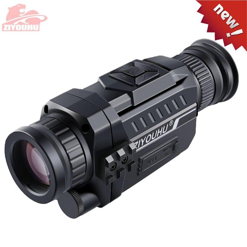 ZIYOUHU, dispositivo de visión nocturna Digital HD infrarroja, Patrulla de caza óptica, 5x35, Monocular, gafas de noche, grabación de vídeo, recién llegado Cámara IP inalámbrica PTZ para exteriores, detección de movimiento por Wifi, visión nocturna infrarroja, vigilancia a prueba de agua RJ45/cámara CCTV domo Wifi