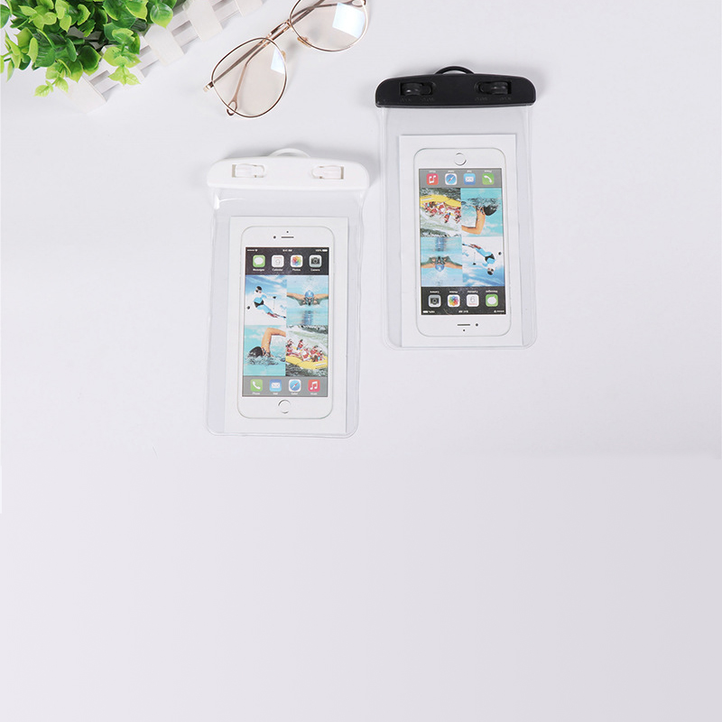 Waterproof mobile phone bag can make your for iPhone millet red rice etc better used in water in Phone Pouches from Cellphones Telecommunications