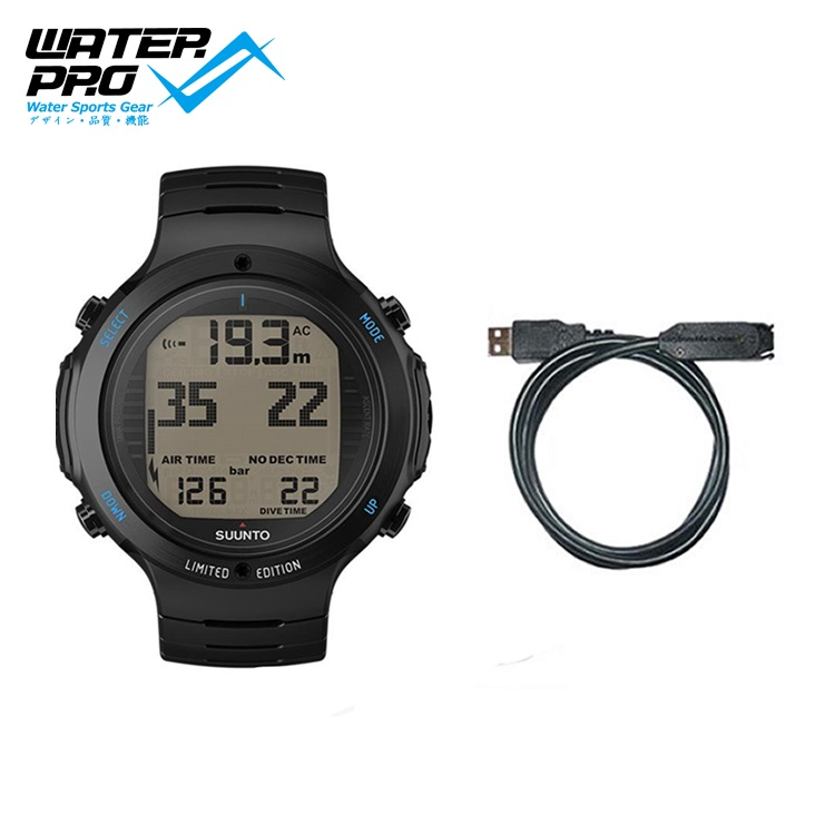 SUUNTO D6i NOVO ALL BLACK STEEL LIMITED EDITION with USB Dive Computer new mf8 eitan s star icosaix radiolarian puzzle magic cube black and primary limited edition very challenging welcome to buy