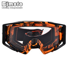 Bjmoto Motocross Goggles Dirt Bike Motorcycle Outdoor Gafas Moto Off-Road Windproof ATV Helmet Sport Eyewear