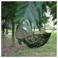 Bán buôn! xách tay Ngụy Trang Cường Độ Cao Parachute Vải Hammock Treo Giường Với Mosquito Net Cho Ngoài Trời Camping Travel