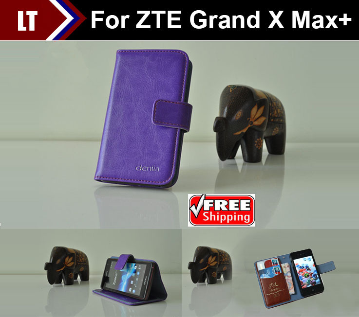 ZTE Grand X Max+ Case New High Quality Genuine Filp Leather Cover Case For ZTE Grand X Max+ case tracking number