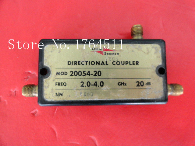 [BELLA] M/A-COM 20054-20 2-4GHz Coup:20dB SMA Supply Coupler