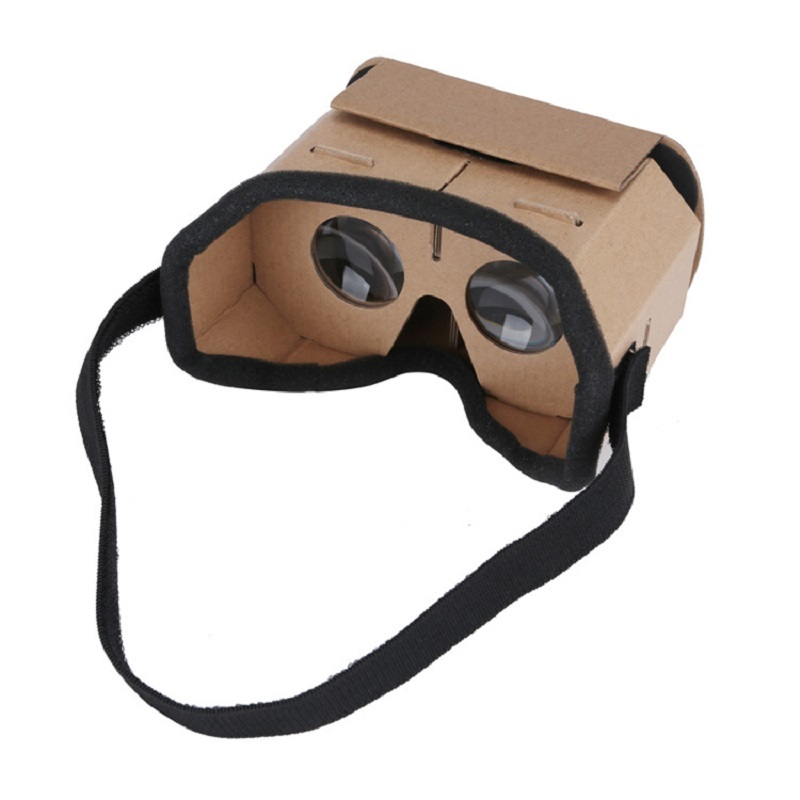 Light Castle Google Cardboard Style Virtual Reality VR Glasses For 3.5 - 6.0 inch Smartphone Glass for iphone for samsung 5
