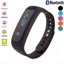 Ubit SmartBand E02 здоровья фитнес-трекер спортивный браслет Водонепроницаемый браслет для IOS Android Smart Band 4.0 Bluetooth