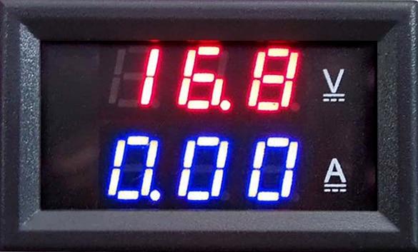 Digital Voltmeter Ammeter Dual Display 10A Tester DC 100V 10A Blue + Red LED Amp Dual Digital Volt Meter Gauge Free Shipping  цены