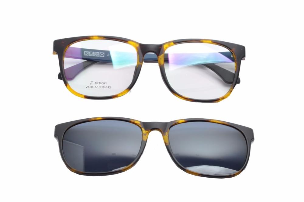 36b15ef62ebe5 DEDING2017 New Magnet Clipon Sunglasses Driving Night Vision Lens For Women    Men Clip-On