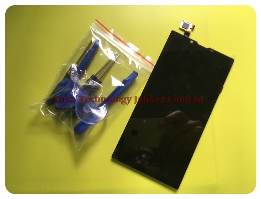Wyieno 100 Tested AC55 Platinum Digitizer Panel Replacement For Archos 55 Platinum Touch LCD Display Screen