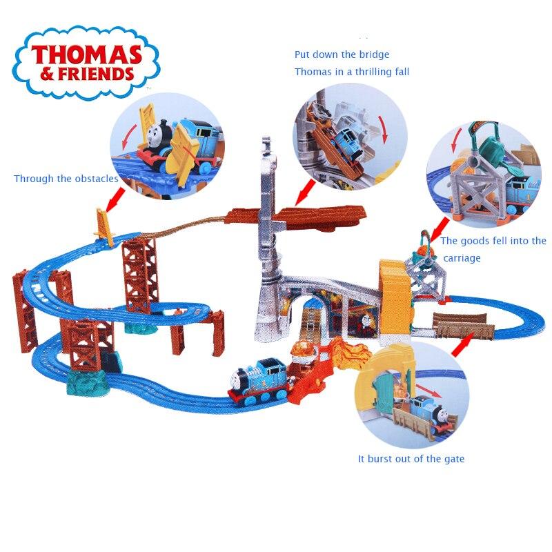 Original Electric ชุดสำรวจชุดรางรถไฟของขวัญเด็ก Toy ของเล่นของเล่นสำหรับเด็ก-ใน โมเดลรถและรถของเล่น จาก ของเล่นและงานอดิเรก บน   2