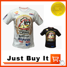 3 Colors 2016 The New GOOD Quality REPSOL MOTO GAS MOTO GP NO.93 Motorcycle clothing racing cotton T-shirt Casual Short sleeve