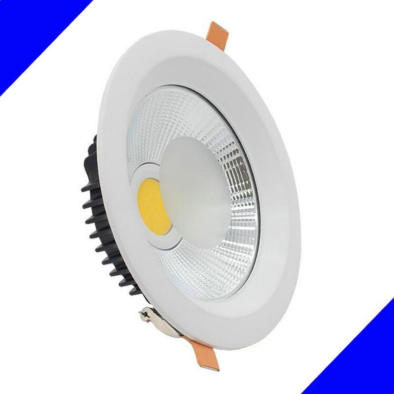 Новинка 2017 года продуктах, перечисленных встраиваемые светодиодные светильники удара 30 Вт/40 Вт LED пятно света Светодиодная лампа потолка ...