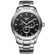 YELANG טריטיום שעונים לגברים קוורץ שעונים T100 זוהר אוטומטי תאריך Flyback עמיד למים ספורט שעוני יד Montre Relogios V1027
