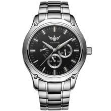 YELANG トリチウム腕時計男性クォーツ時計 T100 発光オート日付フライバック防水スポーツ腕時計 Montre Relogios V1027