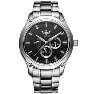 Image 1 - YELANG Tritium Watch For Men Quartz Watches T100 Luminous Auto Date Flyback Waterproof Sport Wristwatch Montre Relogios V1027