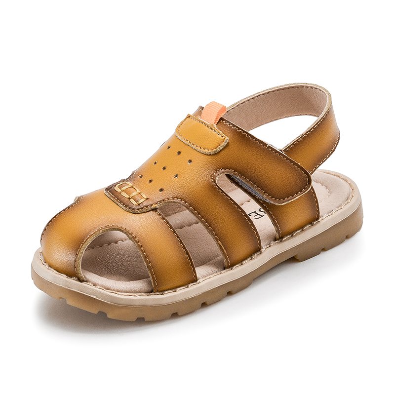 Kids Leather Sandal Shoes Toddler Time limited Summer ...