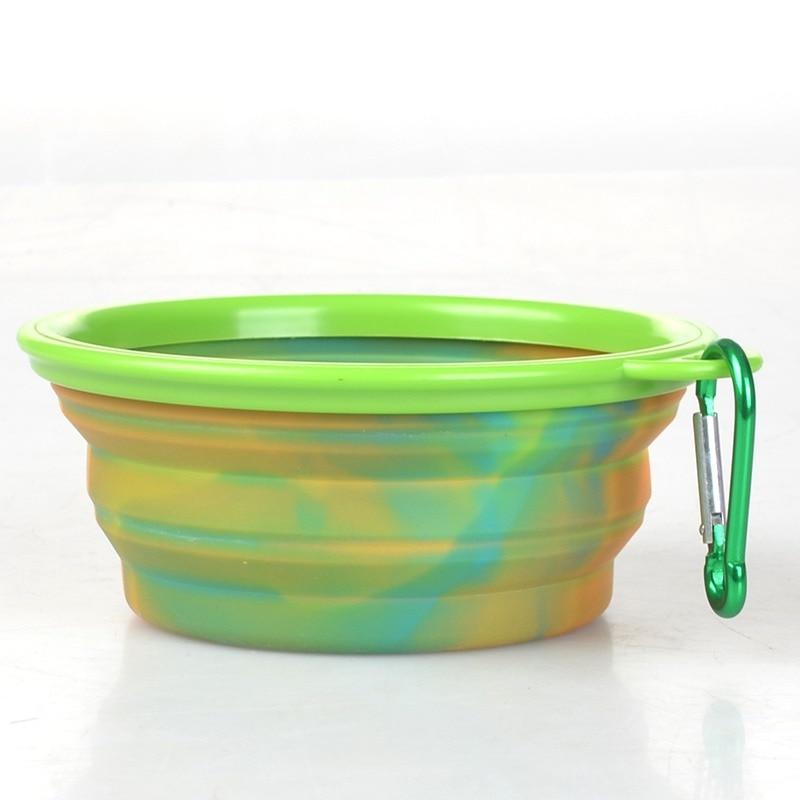Mode & kleurrijke camouflage huisdier siliconen kom draagbare voedsel - Producten voor huisdieren - Foto 3