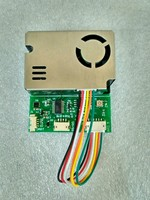 Detection Indicator PM2.5 PM10 Temperature and Humidity C02 Formaldehyde TVOC of 7 in One Sensor Module