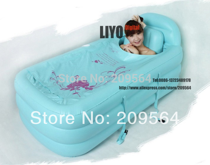 120 90 50cm Spa Pvc Folding Portable Bathtub Inflatable