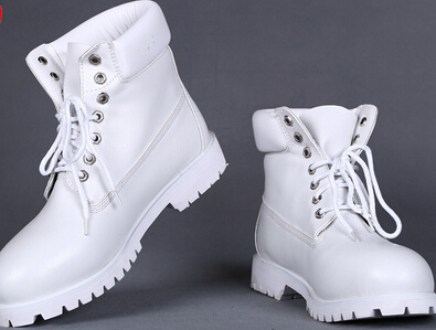 2015 Cheap White Winter Boots For Men New Ankle Waterproof Snow Boots  Genuine Leather Work Boots-in Snow Boots from Shoes on Aliexpress.com  f5542cb90