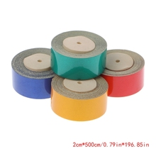 купить 500cm X 2cm Car Truck Reflective Safety Warning Conspicuity Roll Tape Sticker Yellow дешево